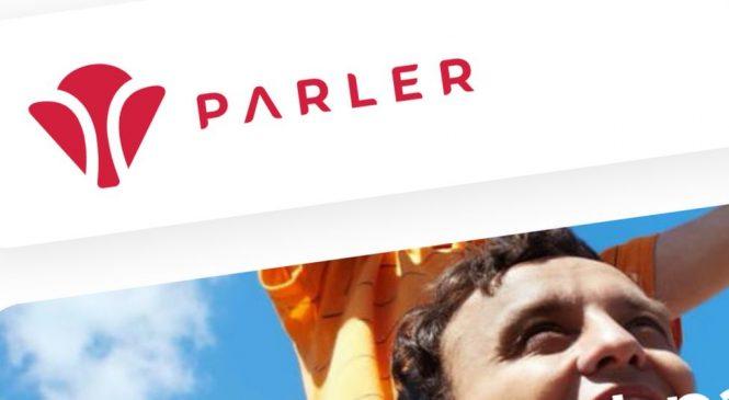 Parler app back online after month-long gap