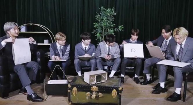 Watch: BTS draw 'Be' album cover in 'MTV Unplugged' teaser