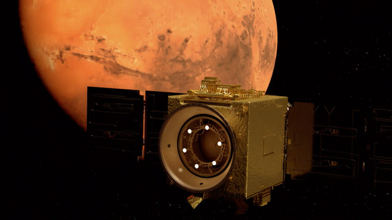 UAE's Hope probe: First photo from Mars mission released