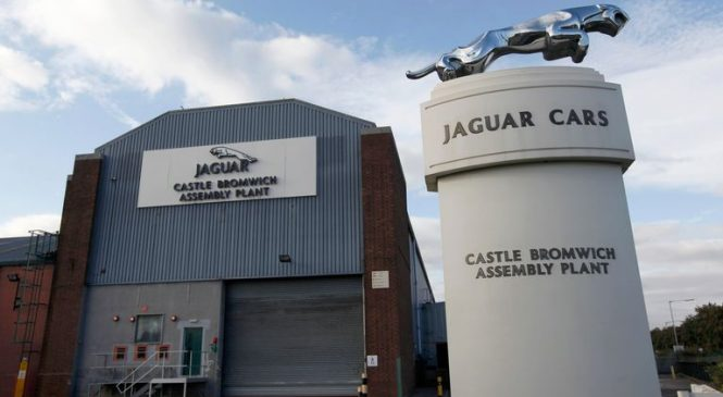 Jaguar Land Rover commits to UK plants in drive to go all-electric by 2030