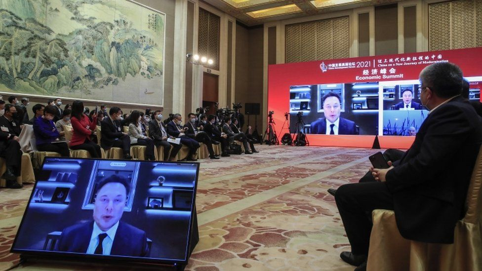 Elon Musk denies Tesla cars are used for spying in China