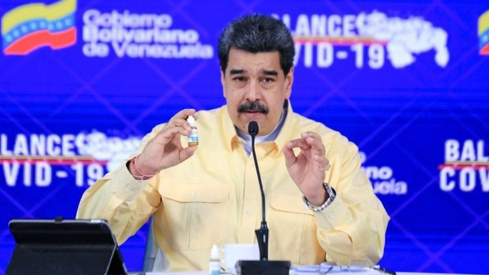 Facebook freezes Maduro's page over Covid claim