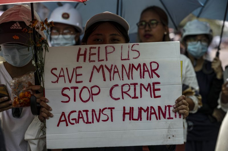 EU, U.S. impose new sanctions against Myanmar military over coup