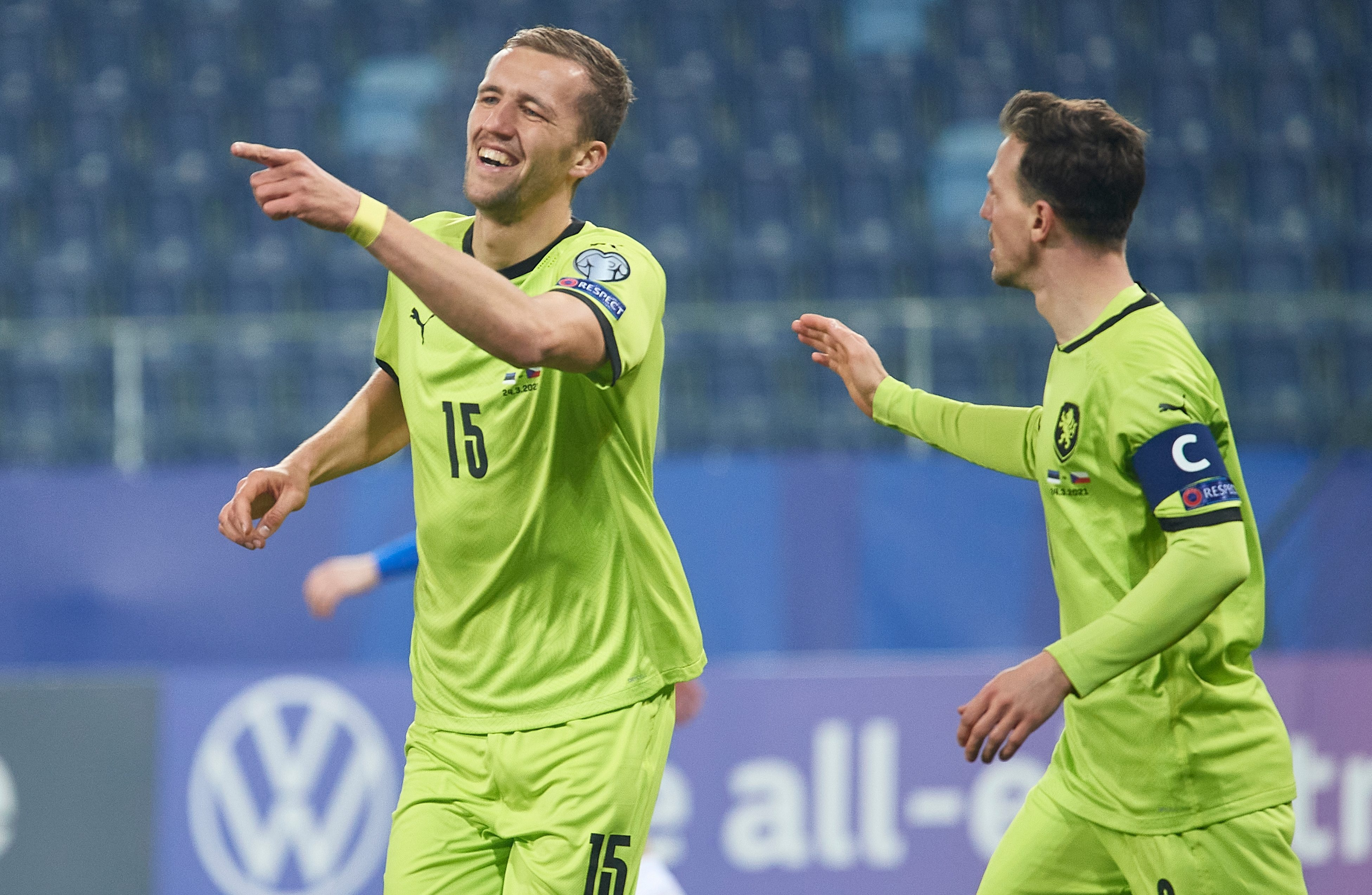 West Ham ace Tomas Soucek hits first Czech Republic HAT-TRICK as Wales and Republic of Ireland stumble in World Cup qualifying openers