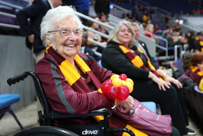 Sister Jean, Loyola Chicago's 101-year-old chaplain, cleared to attend NCAA tourney