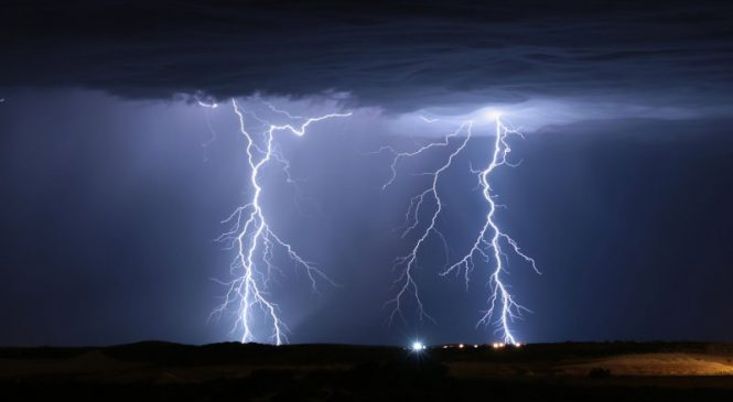 Trillions of lightning bolts may have jumpstarted life on Earth