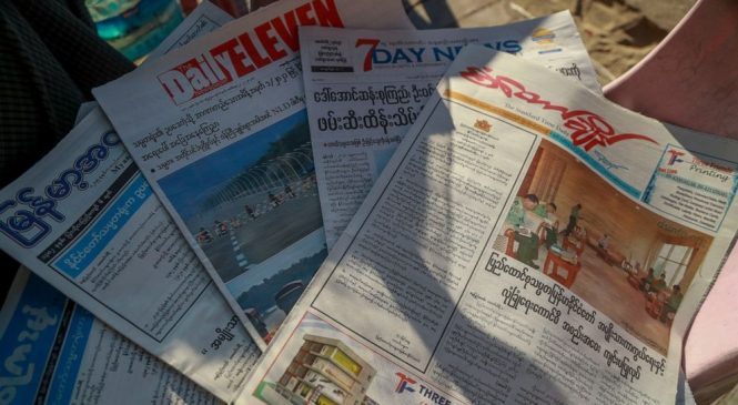 EXPLAINER: Myanmar media defiant as junta cracks down