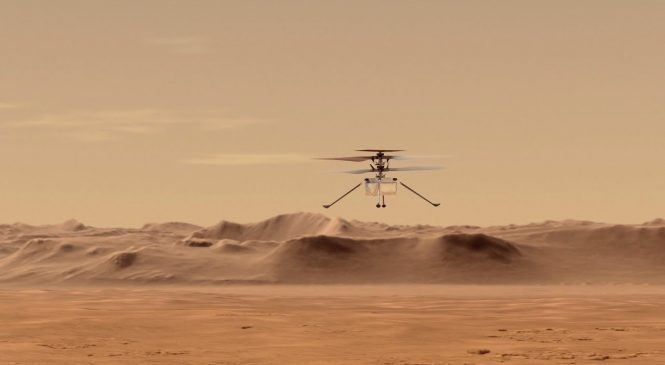 Mars helicopter Ingenuity could usher in new era of exploration