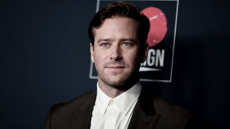 Police investigating Armie Hammer after Hollywood actor accused of rape