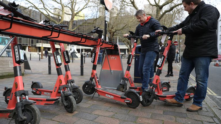 Number of e-scooters on UK roads set to soar – why not everyone's pleased about it