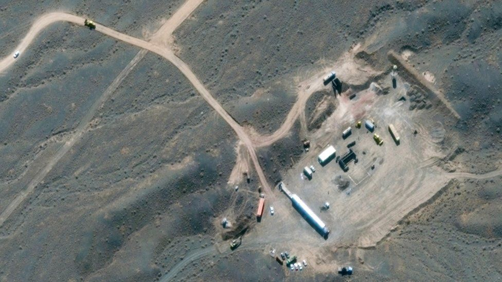Iran nuclear: 'Terrorist act' at underground Natanz facility