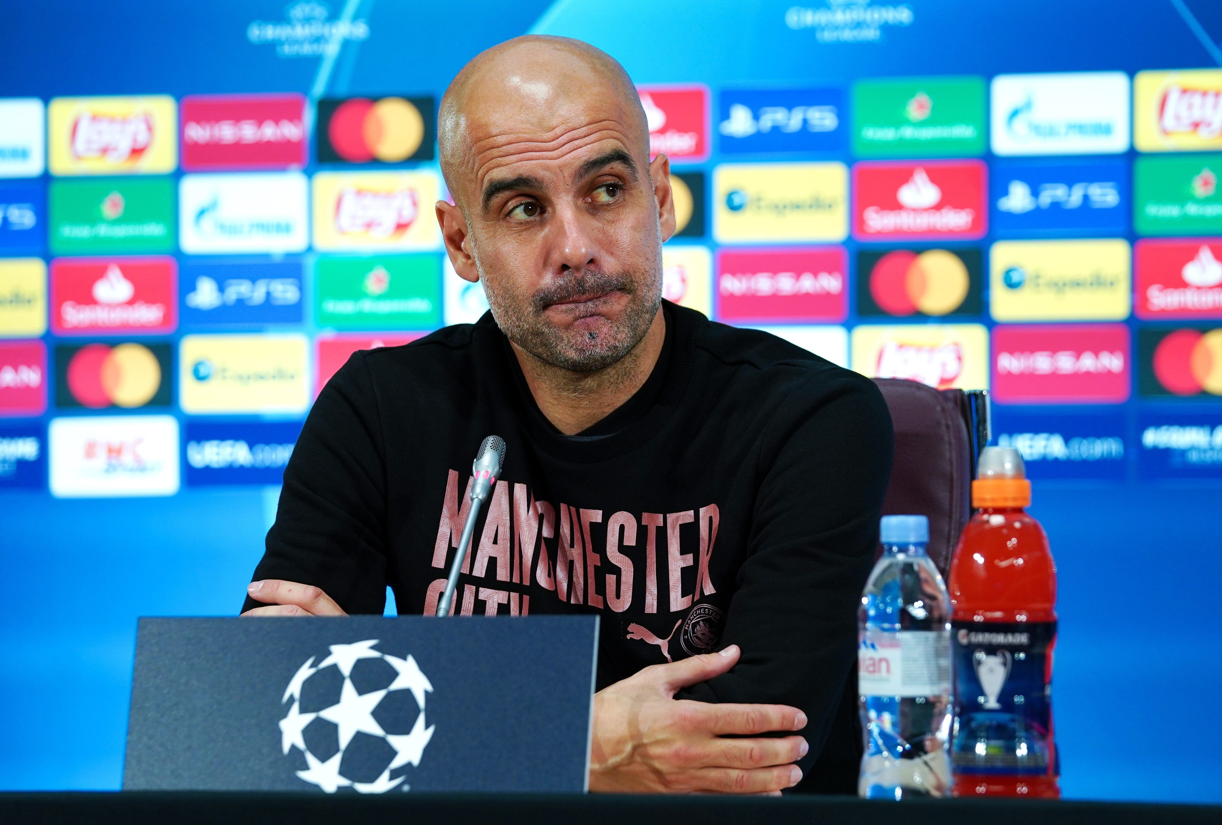 Pep Guardiola says Borussia Dortmund 'pay a lot of money' to agents ahead of Manchester City's Champions League clash with German club