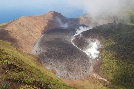 St. Vincent volcano erupts twice in Caribbean amid evacuation