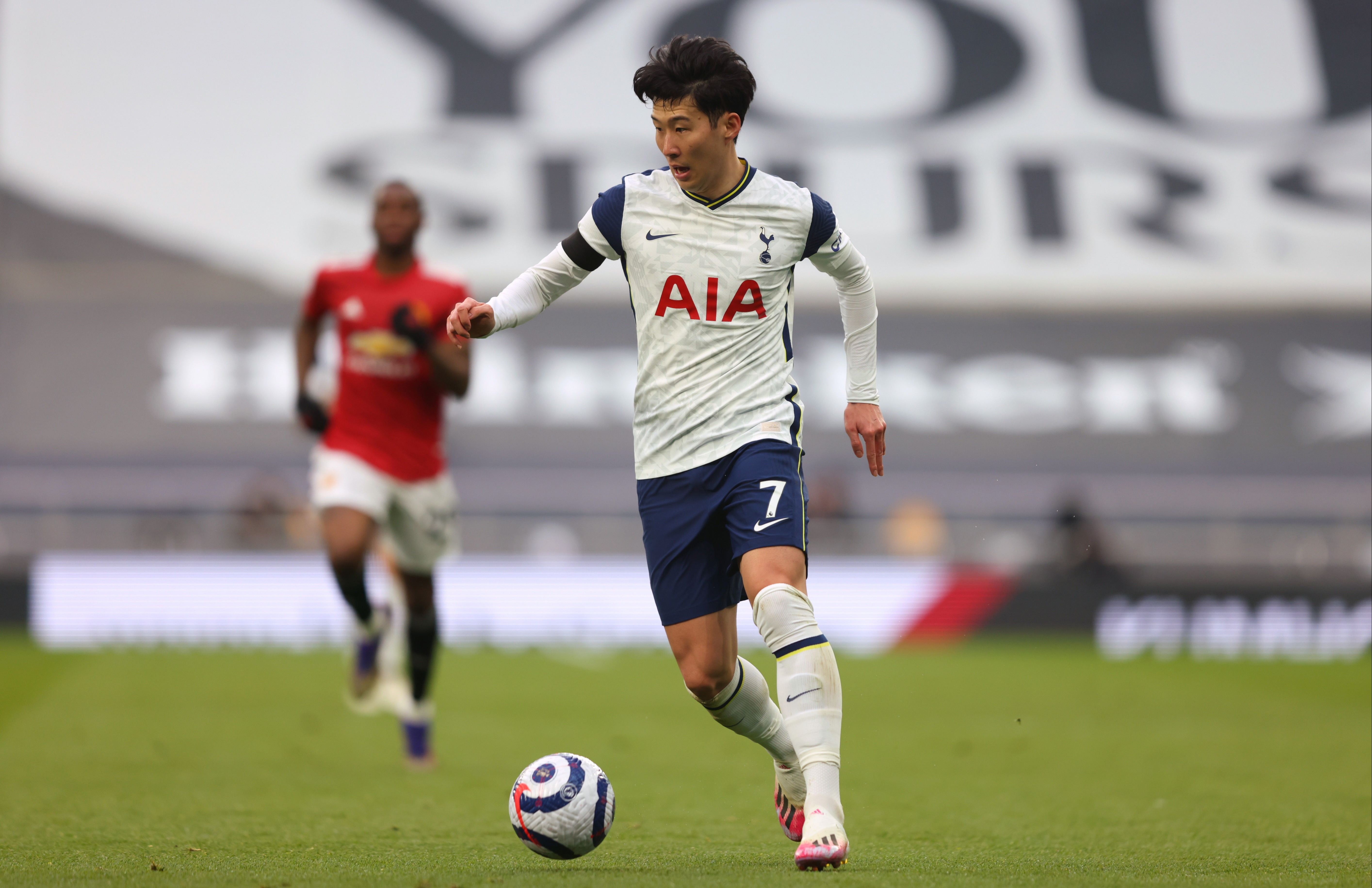 Tottenham condemn 'abhorrent' racial abuse of Heung-min Son after defeat to Man United as South Korea forward becomes latest Premier League star to be targeted online