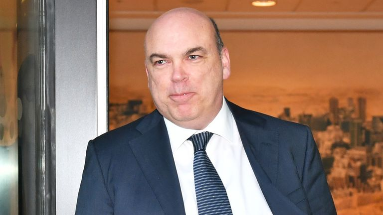 Mike Lynch leaves the Rolls Building in London following the civil case over his ..8.4 billion sale of his software firm Autonomy to Hewlett-Packard in 2011. PRESS ASSOCIATION Photo. Picture date: Monday March 25, 2019. On Friday US prosecutors added three new criminal charges to their indictment against Mr Lynch. See PA story COURTS Autonomy. Photo credit should read: Dominic Lipinski/PA Wire