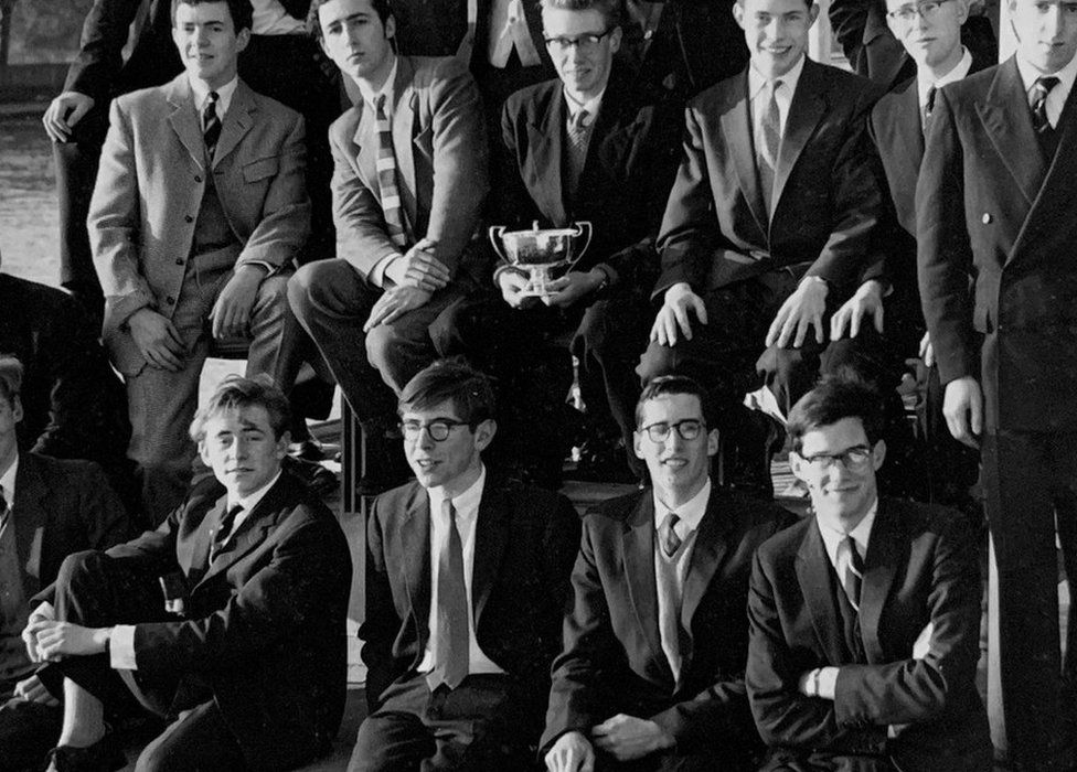 Stephen Hawking as a student